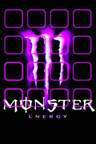 Monster Energy Shelf