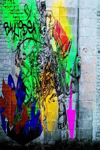 Настенные граффити
