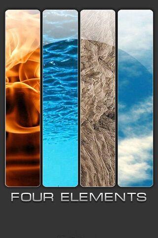 Four Elements Shelf