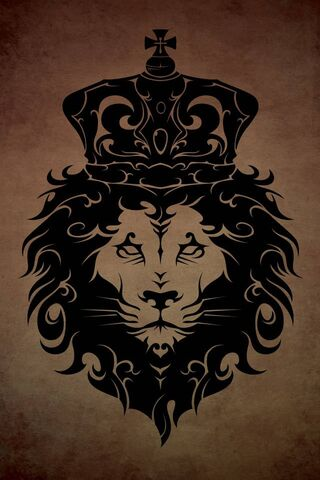 Tribal King Lion