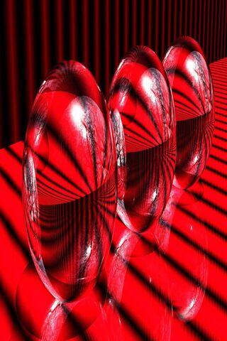 Red Glass Balls