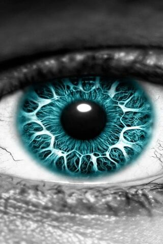 नीला आँख