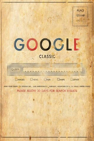 Old School Google