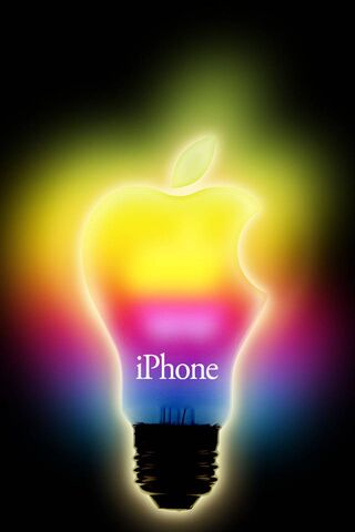 इंद्रधनुष एप्पल लाइट