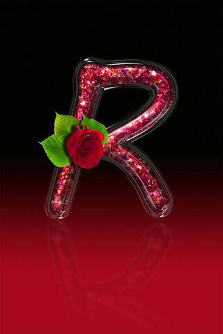 Red Rose Letter R11