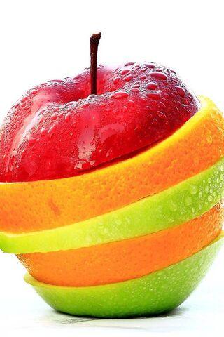 फलों के स्लाइस