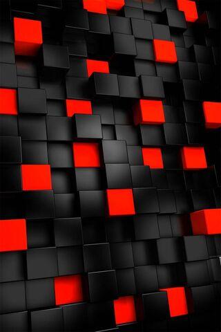 लाल काले वर्ग
