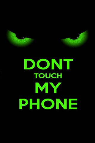 Don't Touch Green