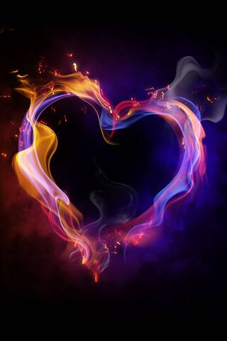 Hd Fire Heart