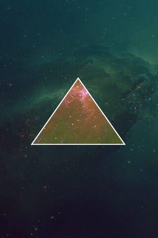 Linha de Luz Triangular