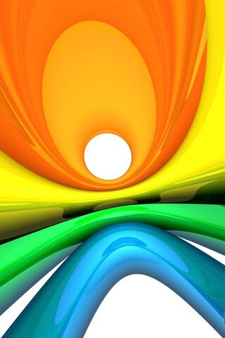 Sóng đầy màu sắc