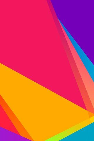 Formes colorées