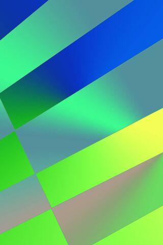 Motif vert bleu