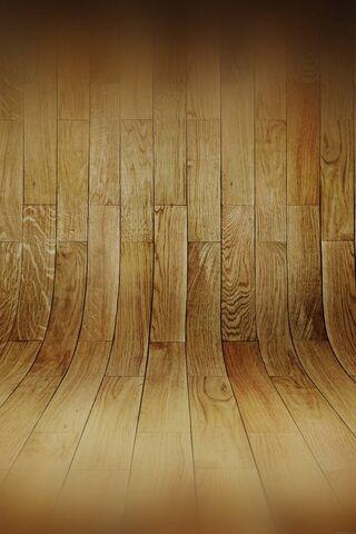 منحنى الخشب