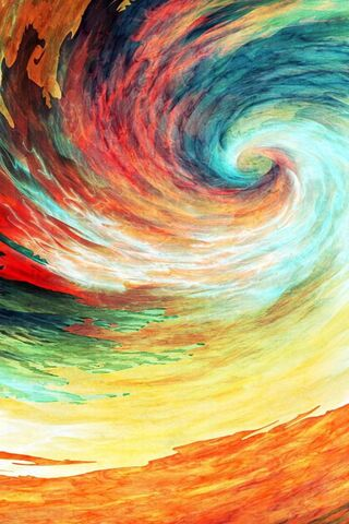 Abstract Swirl 4k