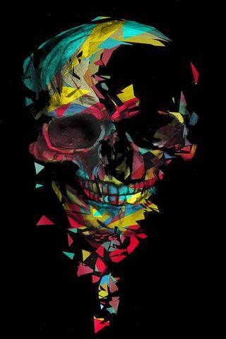 Skull Colored