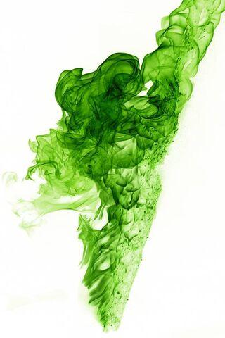 Flame-Green White