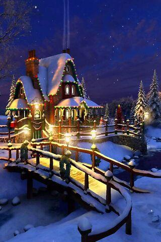Cabaña de Navidad