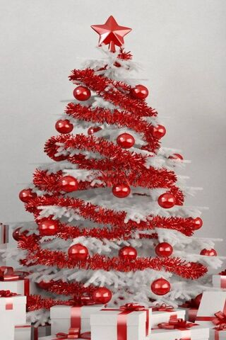 Red White Tree