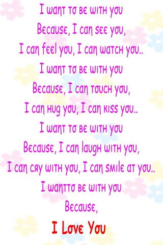 I Want To Be With U