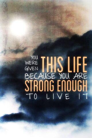 Wystarczająco silny