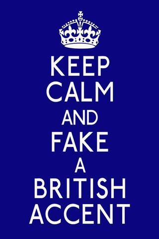 اللهجة البريطانية