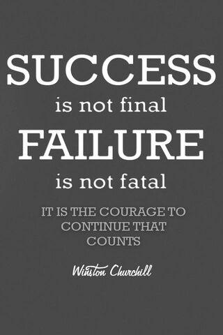 Keberanian Untuk Teruskan