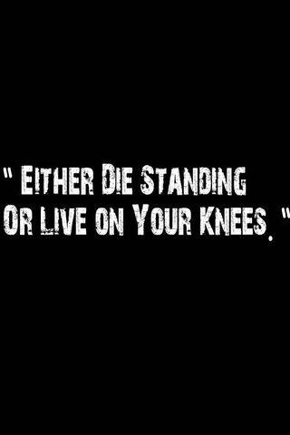 Die Standing