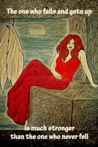 Strong Fallen Angel