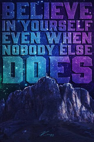 अपने आप पर यकीन रखो