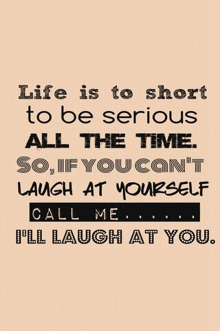 Life Is To Short