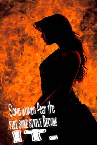 Wanita Kebakaran