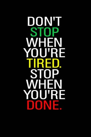 Stop When