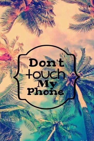 मेरा फोन स्पर्श न करें