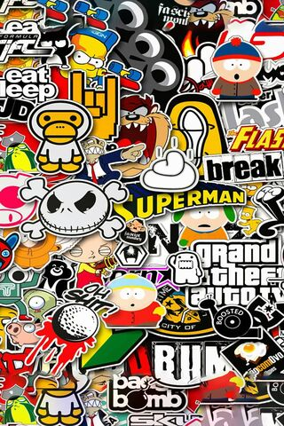 Sticker Brand Art