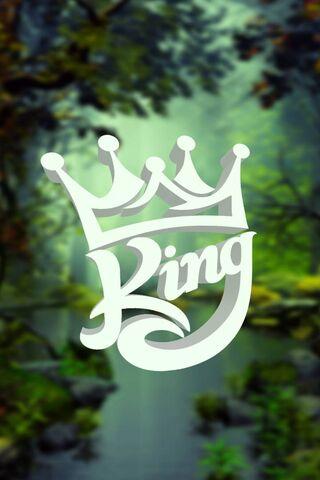 Wallpaper King Blur