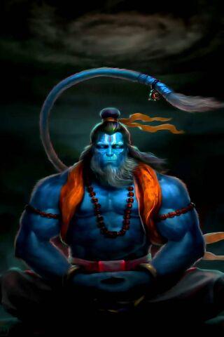 Rudrarup Hanuman