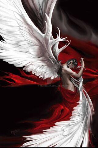 White Male Angel