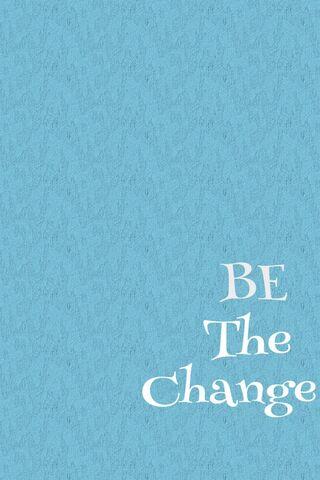 परिवर्तन बनो