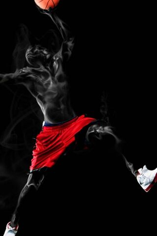 Basket-Ball Fumee