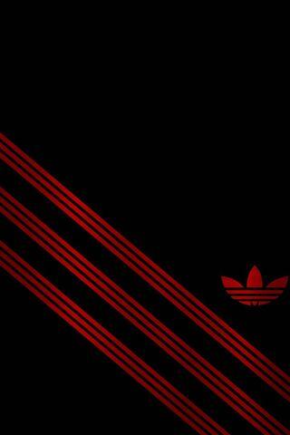 Adidas Rojo Negro