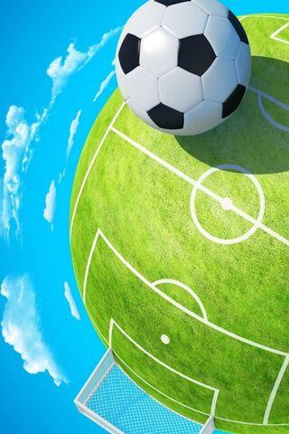 Lapangan Sepak Bola 3D