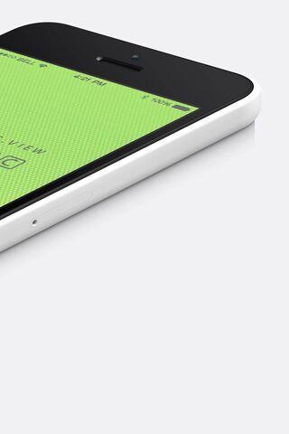 व्हाइट आईफोन 5 सी