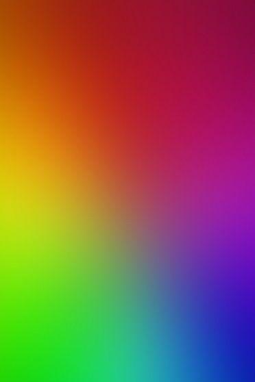Arco-íris brilha
