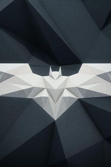 Batman Logo Abstract