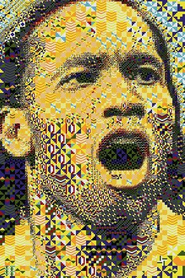 Didier Drogba Abstract