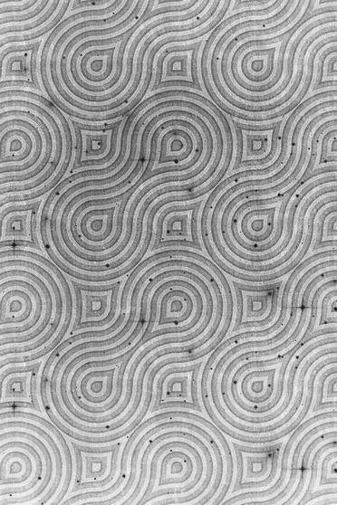 Rotation Pattern Black White