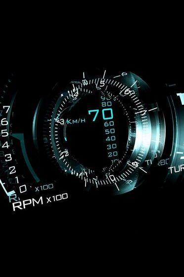 70km Speedometer