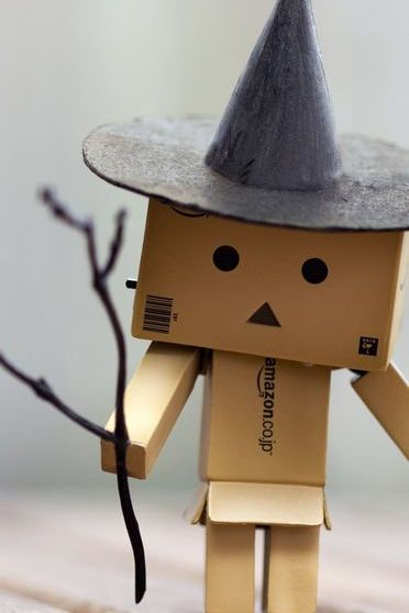 Danbo Is A Witch!