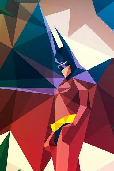 Abstract Batman